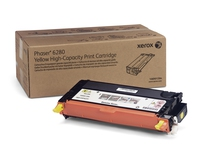 PHASER 6280 TONER JAUNE hte cpt (5900p) pour   XEROX PHASER 6280