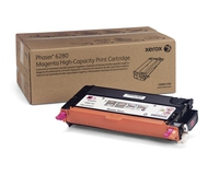 PHASER 6280 TONER MAGENTA hte cpt (5900p) pour   XEROX PHASER 6280