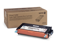 PHASER 6280 TONER CYAN hte cpt (5900p) pour   XEROX PHASER 6280