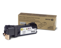 PHASER 6128 TONER JAUNE hte cpt (2500p) pour   XEROX PHASER 6128